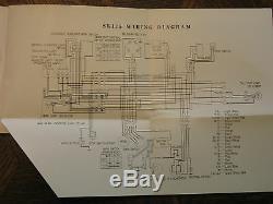 1970 70 Honda Sl175 Sl 175 K0 Ko Nos Original Oem Owner's Driver's Manual