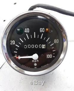 1970 Suzuki Ts 90 Tc90 Speedometer NOS OEM vintage AHRMA