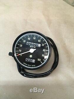 1971 72 73 74 75 76 Suzuki Ts250 Speedometer Oem Nos 34100-30621