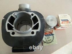 1974 1975 Yamaha Yz250 Cylinder Fresh Standard Bore New Nos Piston Rings