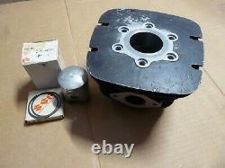 1976 Suzuki Rm100 Cylinder Nos New Piston Rings All Nos New
