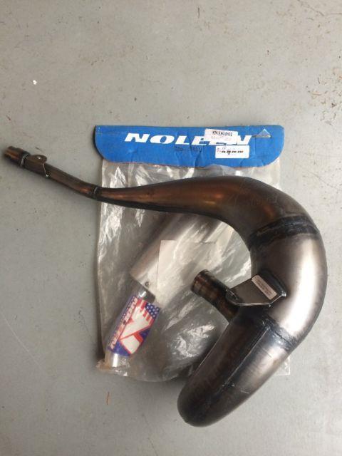 1996 1997 1998 Nos Suzuki Rm250 Noleen Works Natural Pipe Silencer Combo