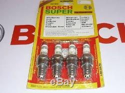 1 Satz = 4 Stück original BOSCH W7DC Zündkerzen set of spark plugs NEU OVP NOS