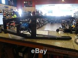 2007 gsxr 1000 strectched swing arm with nos bottle