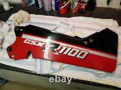 2x Suzuki Gsxr1100h Slabbie 1987 Fairing Rear Seat Panels Nos Lhd & Rhd Pair