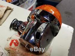 4 Nos Original Oem Suzuki Turn Signals Gt380 Gt500 Gt750 Water Buffalo 35600