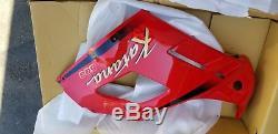88-96 Suzuki Katana 600 Nos Red Left Lower MID Upper Side Fairing Cowl