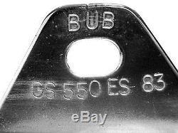 BUB 4 into 1 Chrome Open Megaphone Exhaust System Suzuki GS550 E 1983-1986 NOS