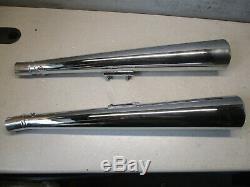 Campbells Suzuki 1978-1979 Gs 550 E Muffler Made In England Chrome Vintage Nos