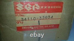 Genuine OEM NOS Suzuki Speedometer Speedo 34110-33634 (Bin-A)