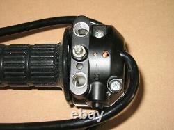 Genuine Suzuki RE5 throttle assembly 57100-37011. Fits RE5M & RE5A NOS