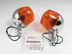 Genuine Suzuki REAR TURN SIGNALS NOS t500 t350 ts400 ts250 gt250