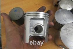 Job Lot Of Nos Suzuki Rm Pistons Rm80 Rm100 Rm125 Rm250 MX Twinshock