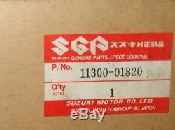 NOS 11300-01820 RM125 Genuine Suzuki Crankcase Set