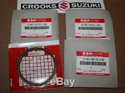 NOS 12140-40F00 Genuine Suzuki GSX-R1000 Piston Ring Sets 4 Sets, enough for on