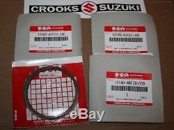 NOS 12140-40F00 Genuine Suzuki GSX-R1000 Piston Ring Sets (4 Sets, for one bike)