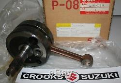 NOS 12200-01B41 RM125 Genuine Suzuki Crankshaft Assy
