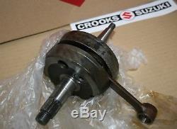 NOS 12200-40230 RM100 Genuine Suzuki Crankshaft Assy