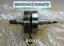 NOS 12200-41500 1978 PE175 C Genuine Suzuki Crankshaft Assy