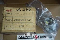 NOS 13201-18110 & 13202-18110 1969 T250 Genuine Suzuki Carburetor, Now Obsolete