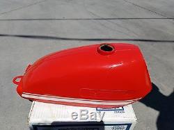 Nos 1971-1974 Suzuki Ts50 Fuel Gas Tank Shop Shelf Find Vintage Calvmx Ahrma