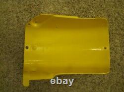 NOS 1971-75 Suzuki TM100 TM125 TM250 TM400 Inner Rear Fender NEW Yellow Plastic