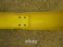NOS 1971-78 Suzuki TM100 TM125 TM250 TM400 RM125 Front Fender NEW Yellow OEM TM