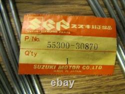 NOS 1977-79 Suzuki PE250 Front Wheel Spoke Set Takasago Rim NEW 36 Vintage PE