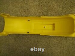 NOS 1978-79 Suzuki PE250 PE175 Original Rear Fender NEW Yellow Plastic PE 250
