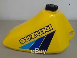 NOS 1983 Suzuki RM80 OEM Fuel Tank Perfect Condition! 44110-20900-163
