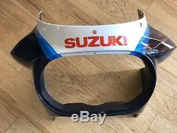 NOS 1986 Suzuki GSX-R1100 Slabside Upper Cowl Fairing Nose RARE