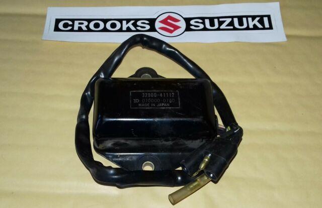 Nos 32900-41112 1980 Rm250t Genuine Suzuki Cdi Unit Made By Nippon Denso