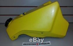 NOS 44100-43850-25Y RM125 Genuine Suzuki Yellow Fuel Tank