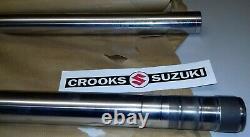 NOS 51110-14250 1982 RM250 Z Genuine Suzuki 38mm Inner Fork Tube Set