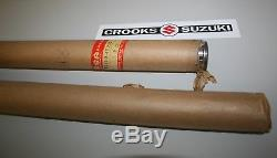 NOS 51110-40210 RM100 Genuine Suzuki Inner Fork Tube Set