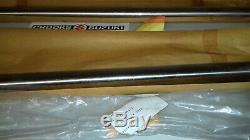 NOS 51110-46910 RM80 Genuine Suzuki Chrome Fork Inner Tube Set
