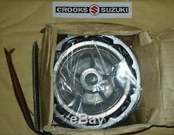 NOS 54110-14201 RM250 / RM465 Genuine Suzuki Front Wheel Hub, MAX. DIA. 150.7mm