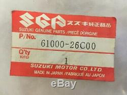 NOS 61000-26C00 RM250 Genuine Suzuki Rear Swinging Arm Assy