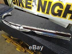 NOS 76 77 Suzuki GT750 Left Exhaust Pipe New NOS Suzuki GT750 Water Buffalo Pipe