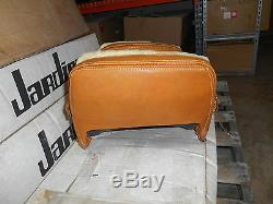 NOS Amco Westerner Brown Leather & Wool Seat Suzuki 79-80 GS1000 2317 29-1805