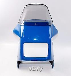 Nos Gieffe Blue Fairing Kit After Market Suzuki Dr 600 Dr 750 Big