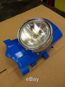 NOS Genuine SUZUKI TS125ER TS185ER TS250ER headlight panel & complete headlight