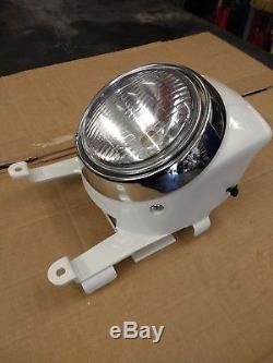 NOS Genuine SUZUKI TS50ER headlight panel & complete headlight