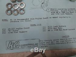 NOS KG Case Guard Savers Motor Engine Guard Protector 1980 Suzuki GS750 SB-107