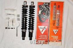 NOS Koni 76F 1282 Suzuki GSX GS GN 250 400 500 850 1000 Stoßdämpfer shocks 327mm