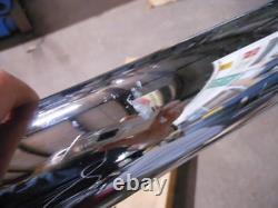 NOS Mac Chrome 4 into 2 Slip On Turn Out Mufflers Exhaust Suzuki 78-80 GS1000