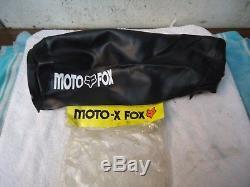 NOS Moto x FOX SUZUKI RM125 RM250 RM370 RM400 1976 1977 1978 SEAT COVER