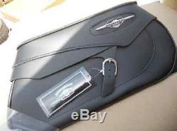NOS NEW Suzuki RIGID MOUNT SADDLEBAGS CLASSIC C90 BOULEVARD 990A0-77031