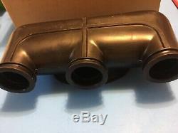 NOS OEM 1974-76 SUZUKI GT380 Air Cleaner Inlet Hose Pipe Manifold 13880-33100
