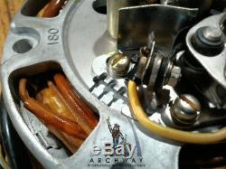 NOS OEM SUZUKI 1968-1975 T500 Magneto Alternator OEM # 31400-15021 (31400-15120)